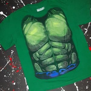 Marvel | Incredible Hulk youth green graphic tee